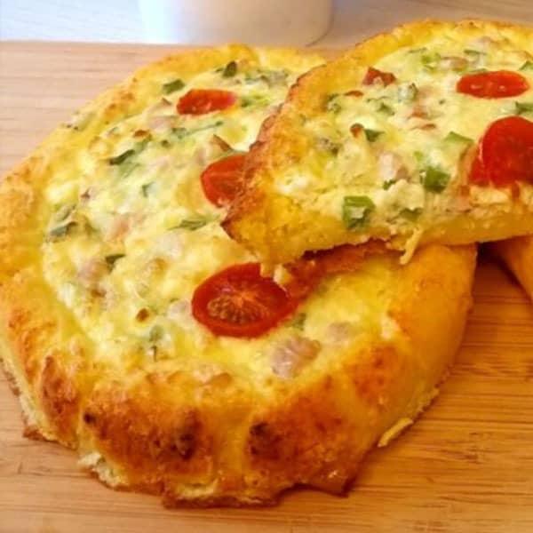 Maizītes ar gaļu un sieru