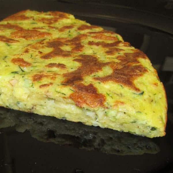 Cukini – siera pīrāgs pannā