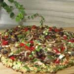 Pica ar sēnēm veģetārā