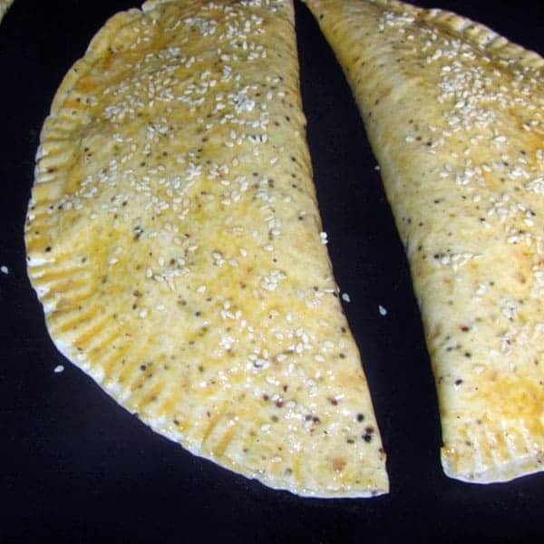 Tortiljas ar Mocarellu un sēnēm