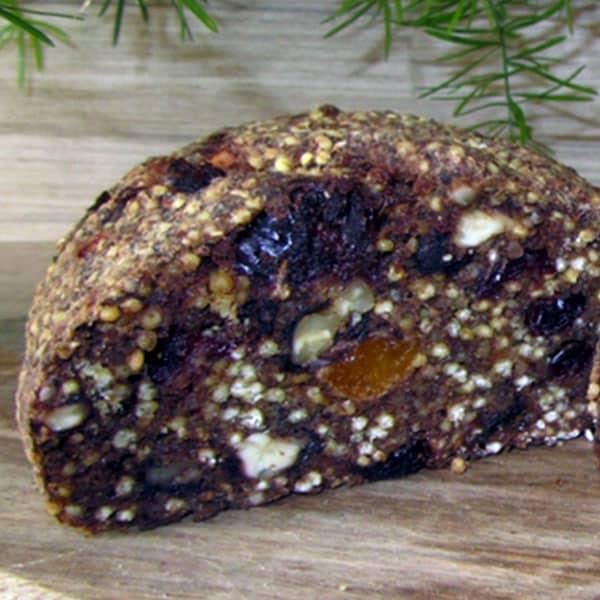 Augļu – riekstu maize bez miltiem, olām