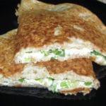 Auzu pankūka ar biezpienu un sieru