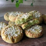 Avokado – siera cepumi bez olām, glutēna
