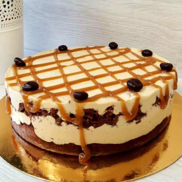 Cigoriņu torte ar karameli