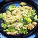 Vistas fileja ar kuskusu, brokoļiem un zaļajiem zirnīšiem