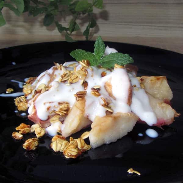 Ābolu deserts ar griljāžu