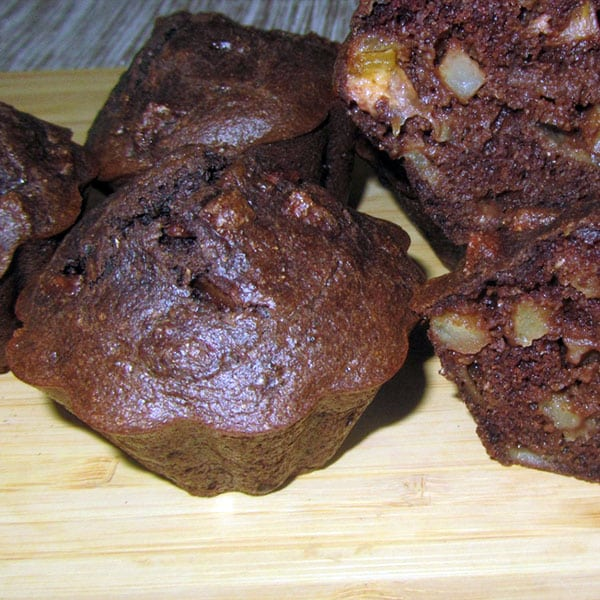 Kakao – ābolu kēksiņi