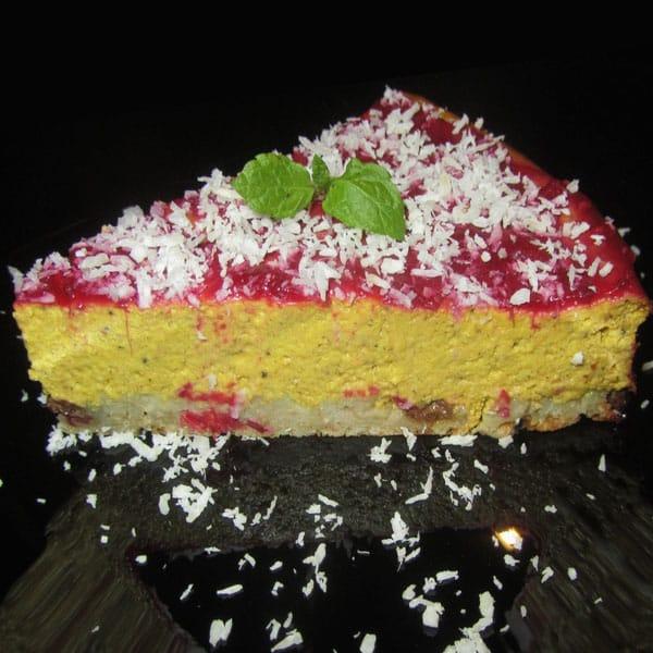 Ķirbja siera kūka