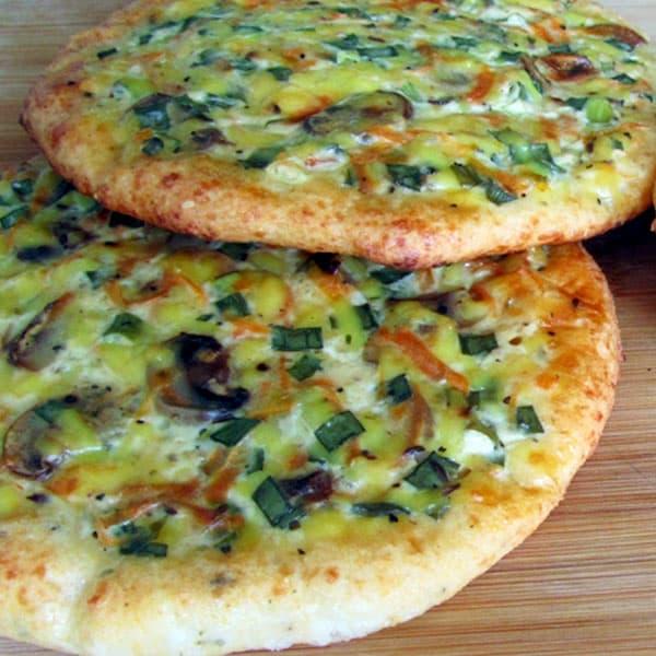 Tarte pica ar ķimeņu sieru un šampinjoniem