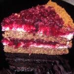Upeņu kūka ar piparkūku garšu