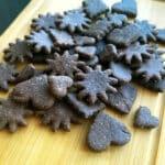 Šokolādes pilngraudu cepumi
