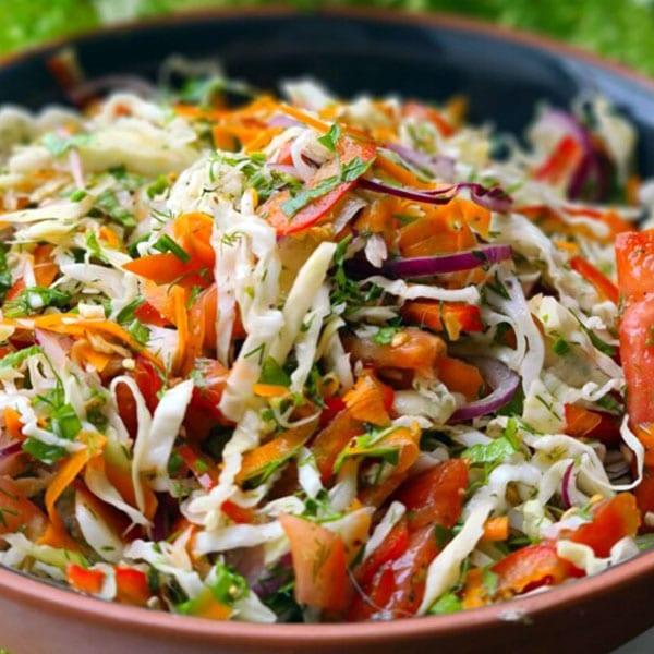 Svaigo dārzeņu salāti
