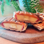 Tortilja ar ābolu un hurmu